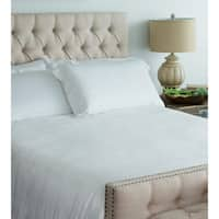 Cariloha Viscose from Bamboo Sateen White Duvet Cover