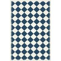 Diamond European Design -  Blue & White colors