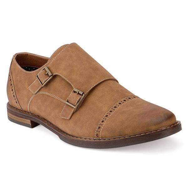 Xray Kraftig Men's Monk Strap ... Dress Shoes KJ0KvHyWP