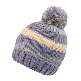 Kids Winter Warm Boys/Girls Pompom Beanie Hat, Striped 11