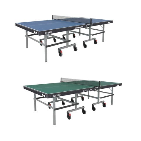 Butterfly Easyplay 22 Table Tennis Ping Pong Table with Net Set - 10 Minute Assembly - 3 Year Warranty
