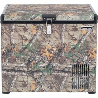 Magic Chef 1.4 Cu. Ft. Portable Freezer with Authentic Realtree Xtra Camouflage Pattern
