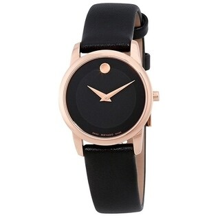 Movado Museum Classic Leather Ladies Watch 0607079