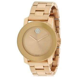 Movado Bold Rose Gold Unisex Watch 3600086