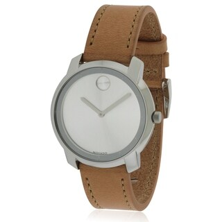 Movado Bold Leather Ladies Watch 3600473