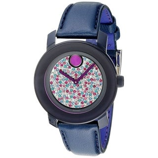 Movado Bold Leather Ladies Watch 3600263