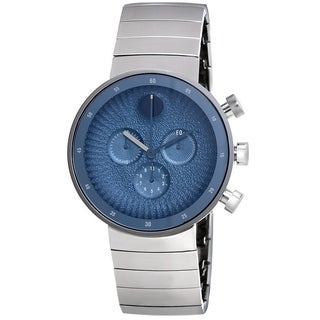 Movado Edge Stainless Steel Mens Watch 3680030
