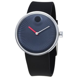 Movado Edge Rubber Mens Watch 3680004