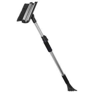 OxGord 3-in-1 Extendable Vehicle Snow Ice Scraper with Brush & Water Squeegee