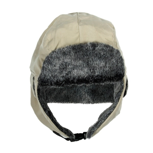 Shop Warm Faux Fur Winter Trooper Hat Cap Color Khaki - On Sale ... 808f65a933d8