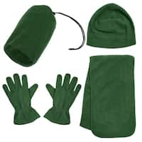 Unisex Adult Winter Wholesale Ski Beanie Scarf Gloves Set