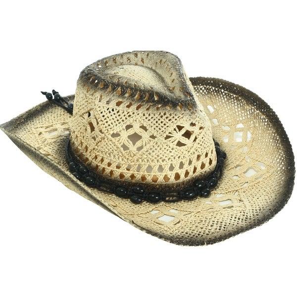 Mens /& Womens Western Style Cowboy//Cowgirl Straw
