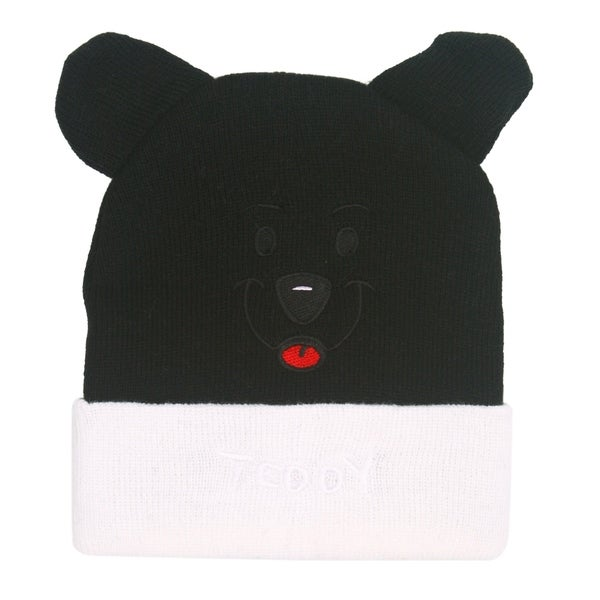 7f104a86198 Shop Baby Toddler Bear Hat Winter Knit Animal Earflap Beanie - Free ...