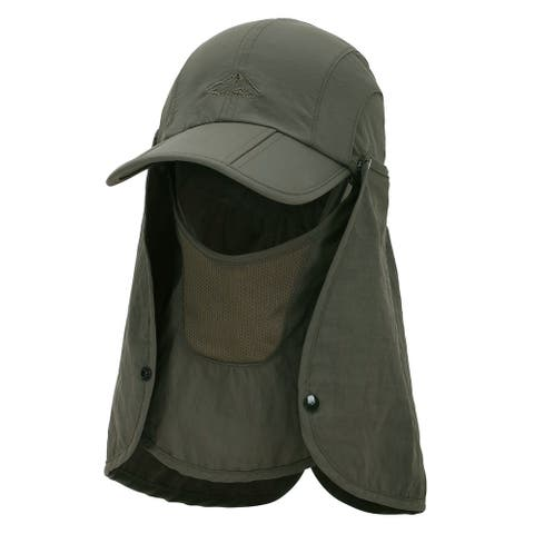 360° Sun Protection Hat-Fishing Hat with Removable Neck and Face Flap