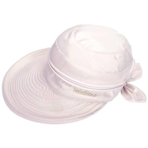 Women's UPF 50+ UV Sun Protective Convertible Beach Hat Visor
