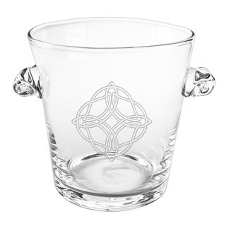 Celtic Knot Scroll Handle Ice Bucket