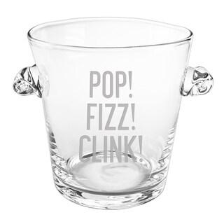 Pop Fizz Clink Scroll Handle Ice Bucket