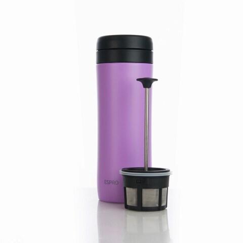 Espro 12 Ounce Travel Coffee Press Violet Purple