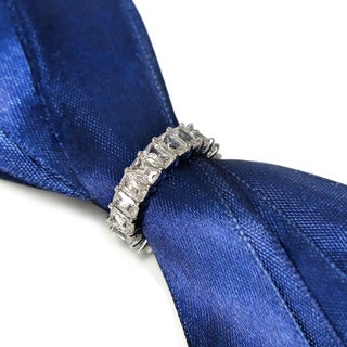Eternally Haute Emerald Cut Eternity Ring (2 options available)