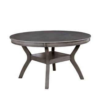 Furniture of America Relia Transitional 54-inch Round Dining Table