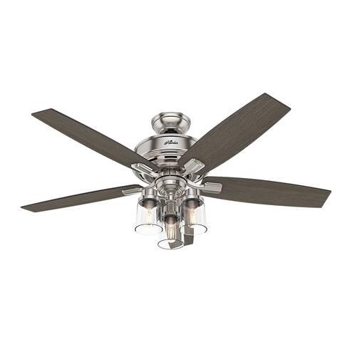 Hunter Bennett 52-inch 3-speed Ceiling Fan