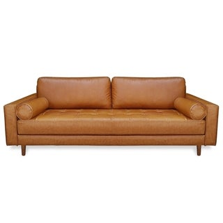 Poly and Bark Inga Sofa in Tan