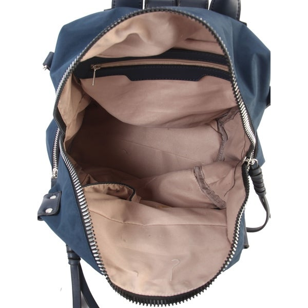 Diophy Fashion Two Ways Use Lightweight Backpack Blue