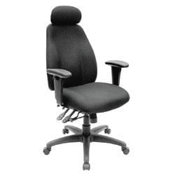 office depot brand maverick high-back fabric chair - free shipping