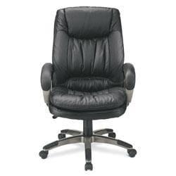 Realspace Soho Harrington High-back Leather Chair