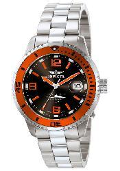 Invicta Men's Pro Diver Black Dial Orange Bezel Automatic Watch - Thumbnail 1
