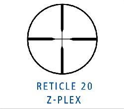 Zeiss Conquest 4.5-14x44mm Z-Plex Reticle Matte Black Rifle Scope - Thumbnail 2