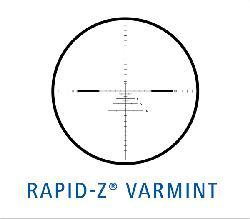 Zeiss Conquest 6.5-20x50mm Rapid Z Varmint Reticle Rifle Scope