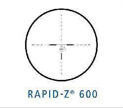 Zeiss Conquest 3.5-10x50 Rapid Z 600 Reticle Black Rifle Scope - Thumbnail 2