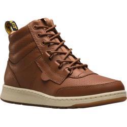 Dr. Martens Derry High Top Sneaker Oak Temperley Analine Burnished Leather