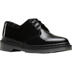 Women's Dr. Martens Dupree 3 Eye Shoe Black Patent Lamper Leather|https://ak1.ostkcdn.com/images/products/200/123/P23951261.jpg?_ostk_perf_=percv&impolicy=medium