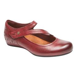 Women's Rockport Cobb Hill Sharleen Mary Jane Wine Leather