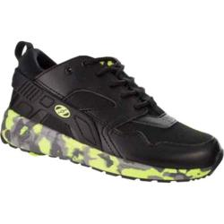 Heelys Force Roller Shoe Black/Bright Yellow Confetti