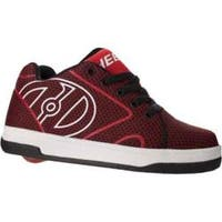 Children's Heelys Propel Knit Roller Shoe Red/Black Knit