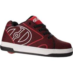 Children's Heelys Propel Knit Roller Shoe Red/Black Knit