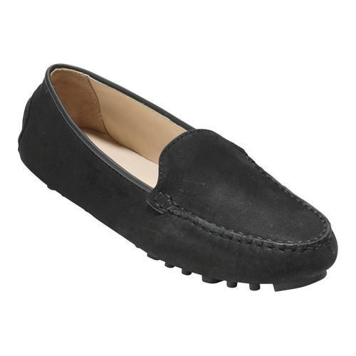 e876648c8c3 Shop Women s Cole Haan Hanneli Driver II Loafer Black Nubuck - Free  Shipping Today - Overstock - 17752745