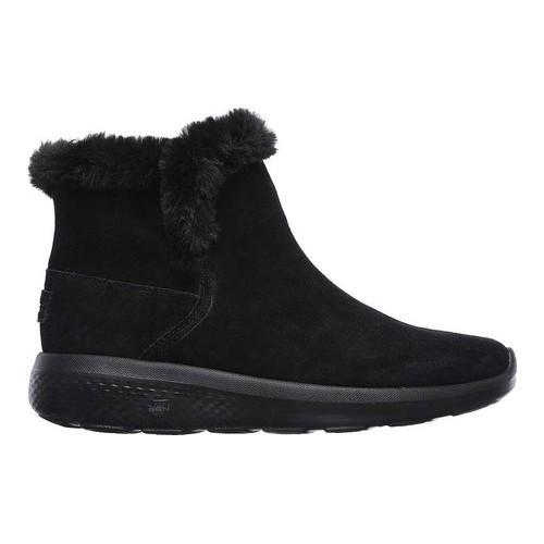 Women's Skechers On the GO City 2 Bundle Ankle Boot Black - Thumbnail 1