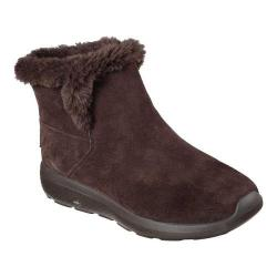 Women's Skechers On the GO City 2 Bundle Ankle Boot Chocolate