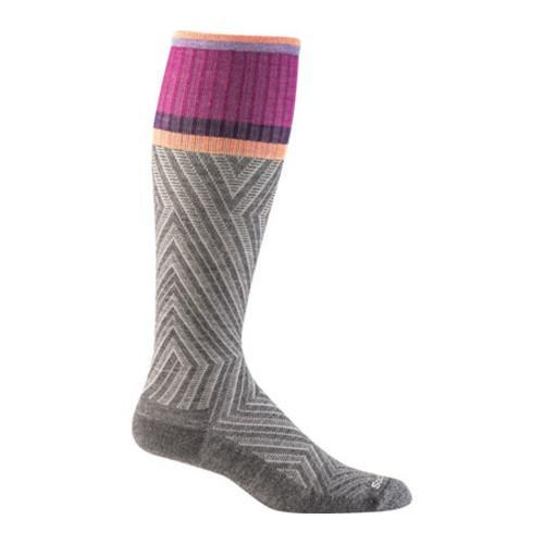Women's Sockwell Labyrinth Moderate Compression Sock Charcoal