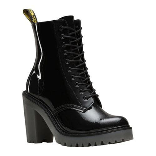 94569fc40c3 Women's Dr. Martens Kendra 10-Eye Hiker Boot Black Patent Lamper Leather