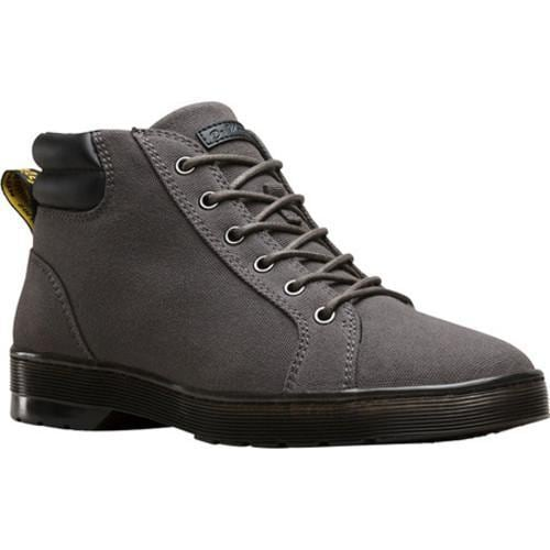 13a640f1ab4 Shop Men's Dr. Martens Plaza 6-Eye Ankle Boot Gunmetal Heavyweight Canvas -  Free Shipping Today - Overstock - 17755748