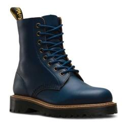 Dr. Martens Pascal 8-Eye Boot Indigo Montelupo Waxy Smooth Leather