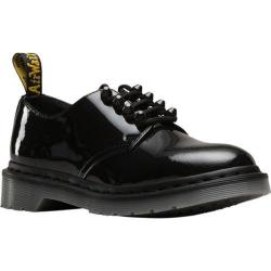Women's Dr. Martens Smiths 4-Eye Oxford Black Patent Lamper Leather