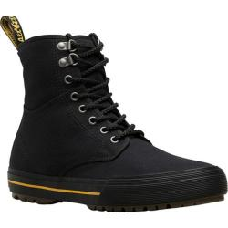 Men's Dr. Martens Winsted 8-Eye Boot Black Heavyweight Canvas