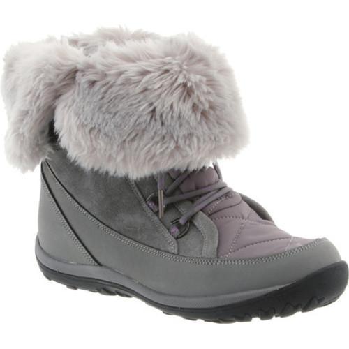 Women's Bearpaw Whitney Mid-Calf Lace-Up Boot Gray II Lea...