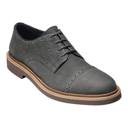Men's Cole Haan Carver Cap Oxford II Midnight Grey Leather